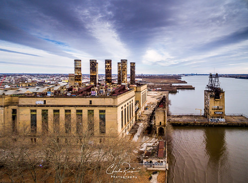 penntreatypark pecoplant skyline philadelphia urban industrial building historic smokestacks plant delaware river fishtown graffity power aerialphotography drone powerstation architecture outdoor fishtownpecoplant landscape riverside aerialcharlesragucciphotography