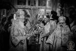 Великая вечерня в Иверском монастыре 230
