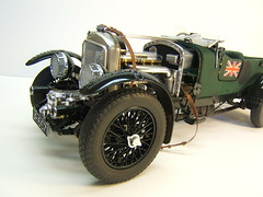 Airfix 1/12 Bentley Blower (JOHN561320's build for reference)