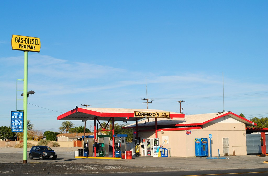 Gas Stations In California >> Lorenzo S Gas Station Thermal California Cragin Spring