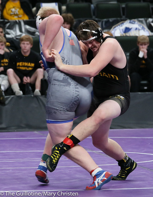 285 - Mitch Trigg (Foley) over Jonathan Staebler (Perham) Dec 5-0