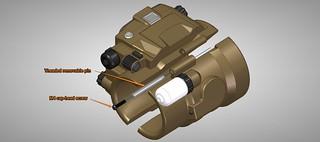 Pip-Boy 3000 Mk4, CAD, Hinge | by ZapWizard