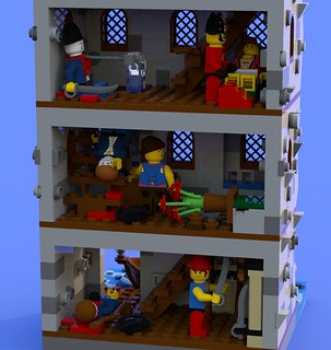 Pillage the Village Tower Close | by SilentWolf Legos