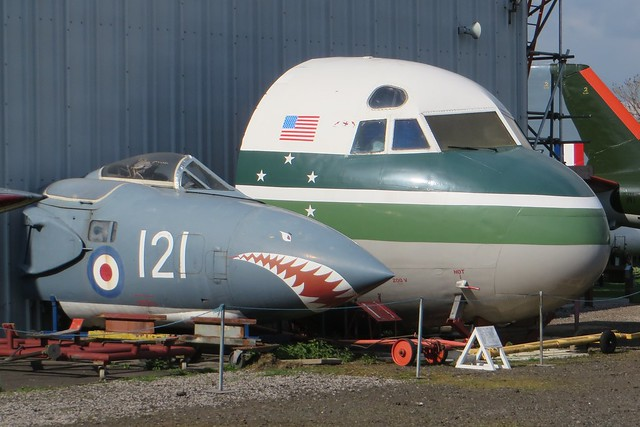 XJ579 G-CHNX Midland Air Museum Coventry 19 April 2015