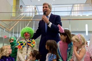 Secretary Kerry Participates in Embassy Meet and Greet in Bishkek, Kyrgyzstan