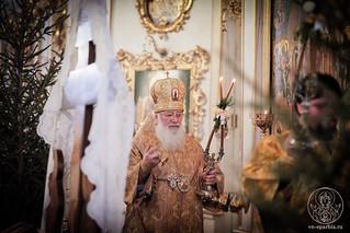 Литургия в Покровском соборе 146