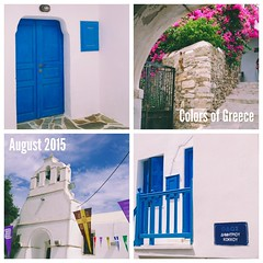 Colors of Greece #greece #cyclades