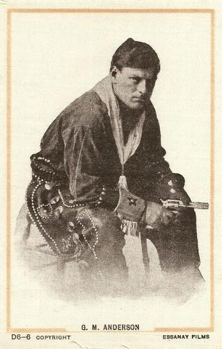 Gilbert M. Anderson alias Broncho Bolly