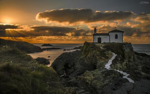 longexposure sunset sea costa seascape landscape mar nikon shoreline puestadesol goldenhour valdoviño largaexposición meirás virxedoporto nikond5100 goldenbreeze