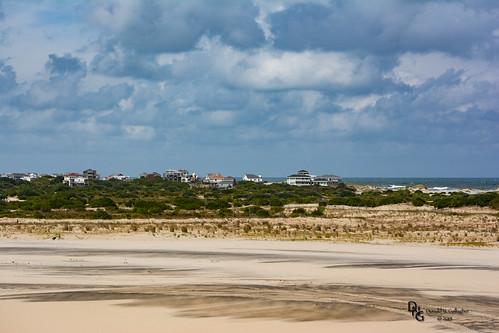 ocean houses usa nature clouds nc sand waves dune northcarolina atlantic northamerica outerbanks graysky obx outerbanx whitecaps pennyshill