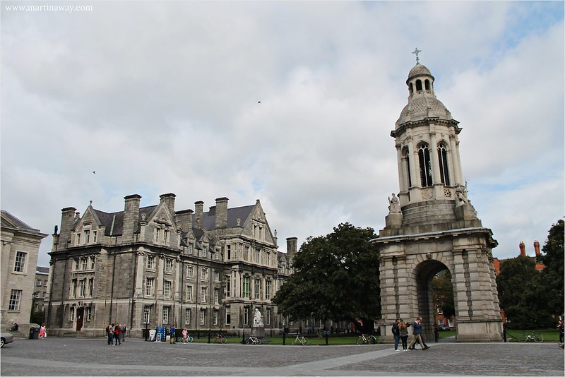 Trinity College, leggende irlandesi