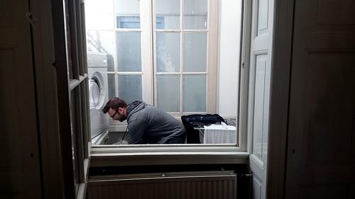 2015 - Europe - Haarlem - Apartment Laundry Room   by SeeJulesTravel