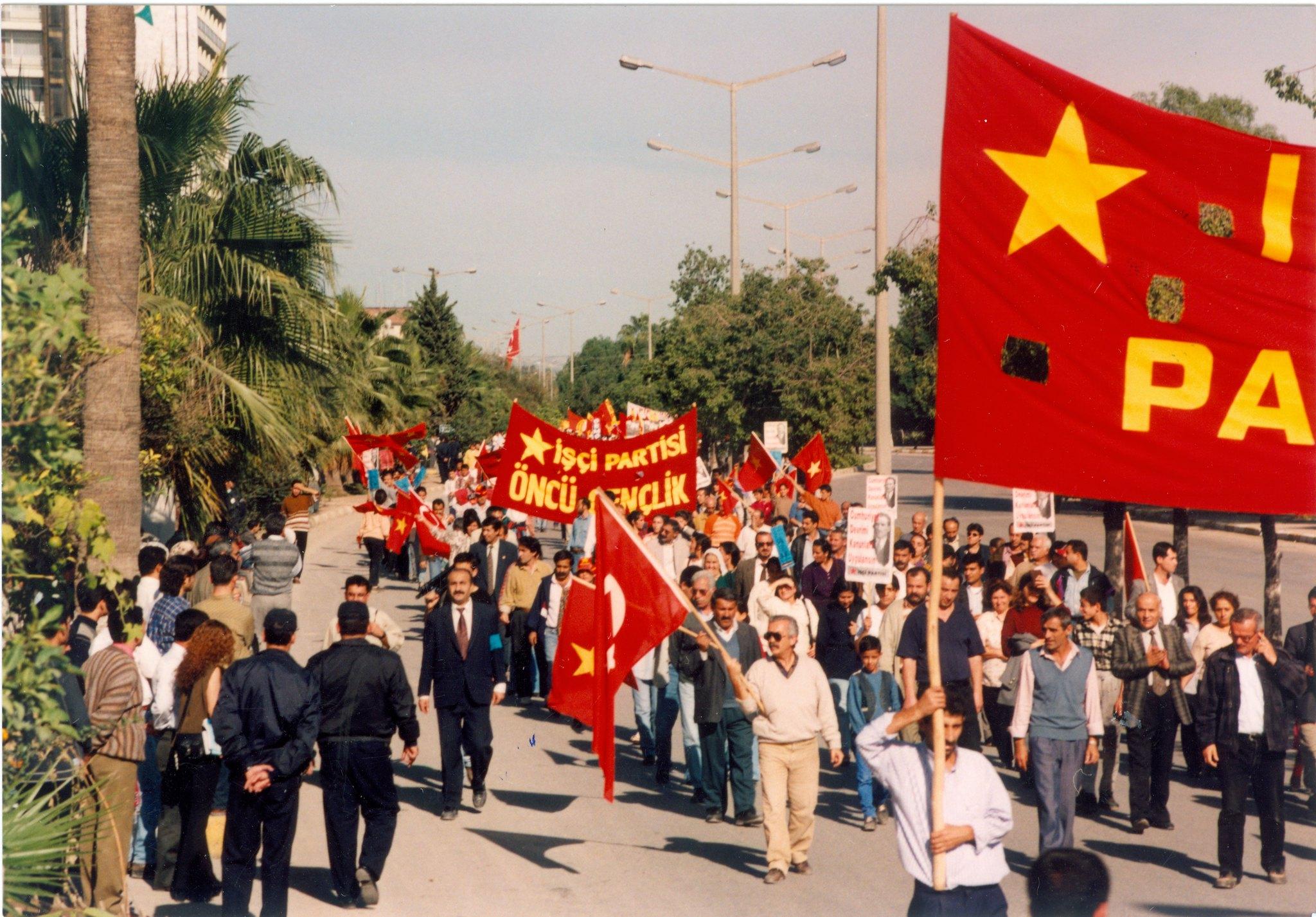 Üniversitelere Dokunma, Çetelere Dokun Eylemi(1997)