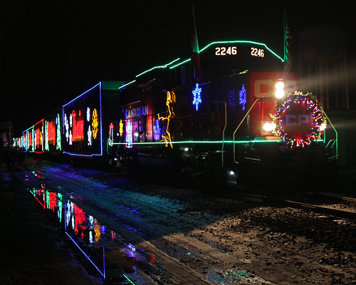 canadianpacific cp mn 2015 waseca holidaytrain 2246 gp20c