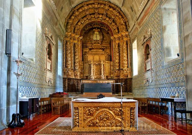 Capela-mor da igreja do Convento dos Loios