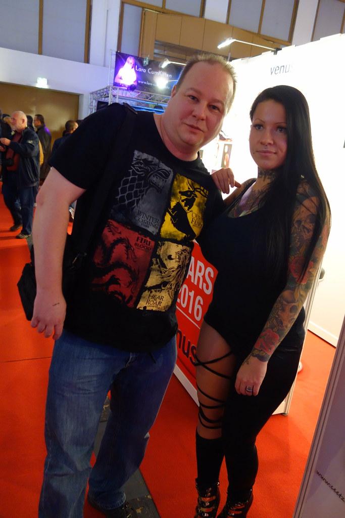 Venus Berlin 2016 - Me with  | Me with Ceetzie | Alf