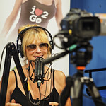 Living Unfiltered with Wendi Cooper on UBN Radio at Sunset Gower Studios in Hollywood, California