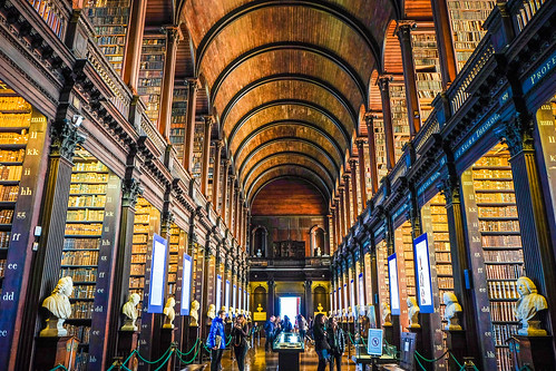 The Old Library at the Trinity College - Book of Kells. | by Jeff Pioquinto, SJ