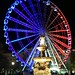 Budapest eye lighted as the French flag by Majorimi