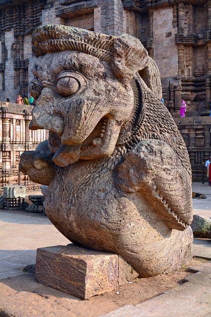 India - Odisha - Konark - Sun Temple - 161