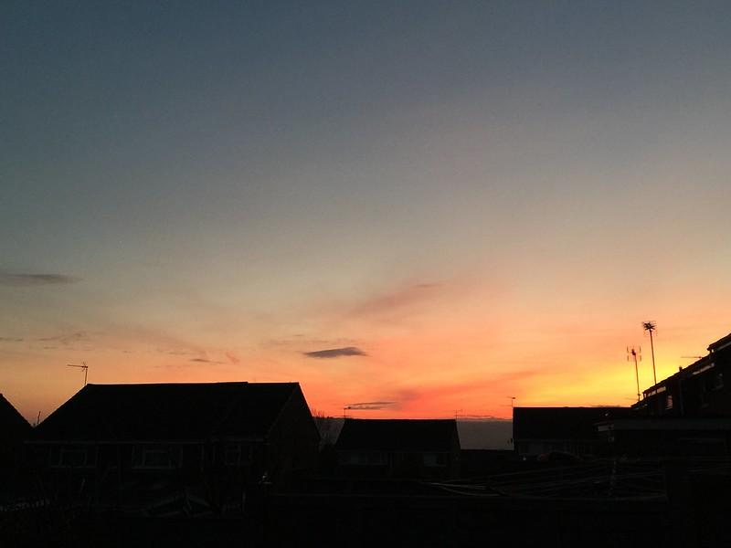 Alton December Sky