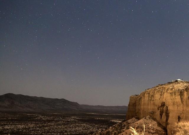 night falls at Ugab terrace