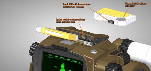 Pip-Boy 3000 Mk4, CAD, Holotape 3 | by ZapWizard