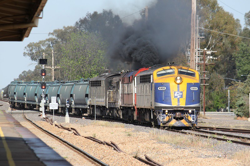 Taking the branch line at Benalla by David Arnold