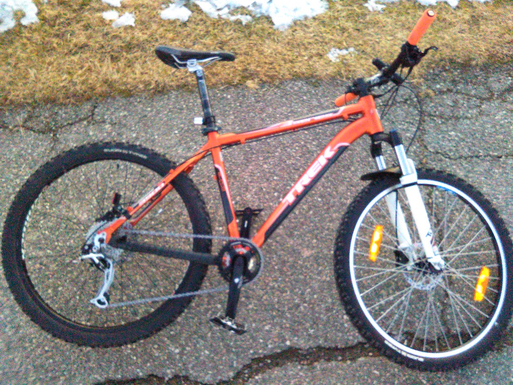winter ready & upgraded 2010 Trek 3900 Disc