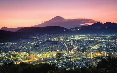 park city longexposure light sunset sky sun mountain beautiful japan evening fuji jp fujisan fujifilm dust kanagawa mtfuji worldheritage hadano kanagawaken xt1 hadanoshi koboyama