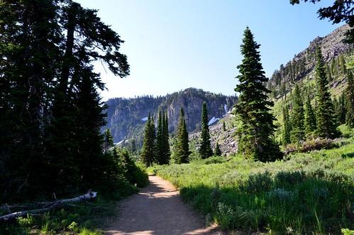 Bloomington Lake trail   by James and Deb's WVU Tech Photos