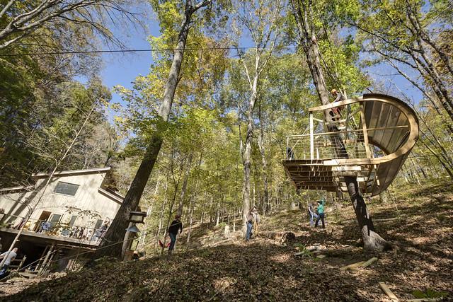 Ewok Tree House, Davidson County, Tennessee 6