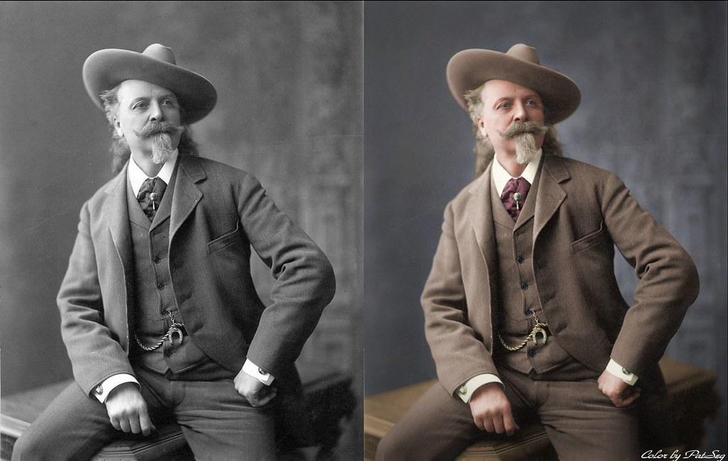Buffalo Bill Cody 1900 New York William Frederick Cody Flickr