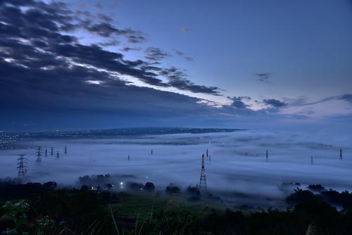 sunset clouds cpl seaofclouds 雲海 blackcard 黑卡 橫山 長曝 橫山仙境
