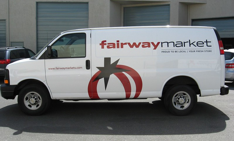 Fairway Market van vehicle graphics