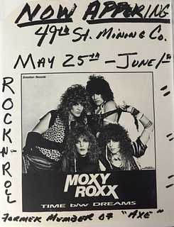 1984-1986 Tampa Bay Area Band Flyers | by rocksandyblog