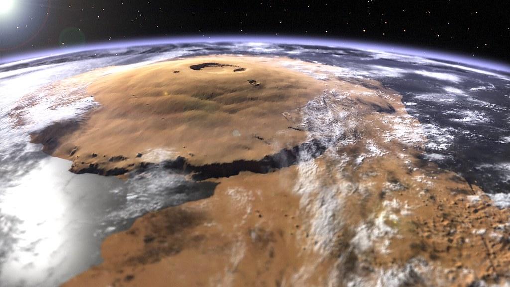 Olympus Mons   A visua...