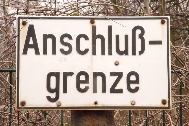 11.04.2006 Gelsenkirchen Bismarck.Anschlußgrenze. Es war einmal ...