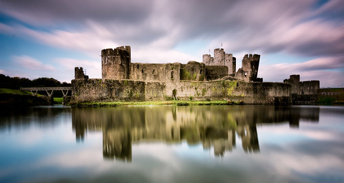 uk castle wales caerphilly