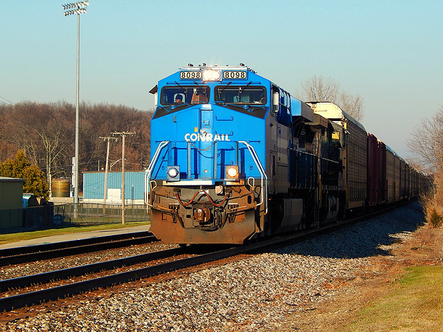 Conrail heritage unit at Butler Indiana