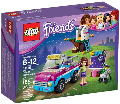 LEGO Friends 41116 - Olivia's Exploration Car | by www.giocovisione.com