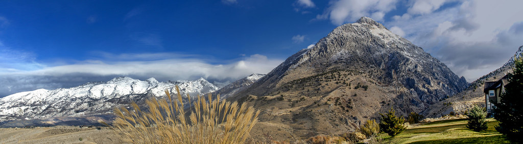 Lone Peak and American Fork canyon