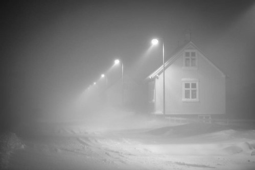 #eyrarbakki #iceland #winter #snow | by Dísin