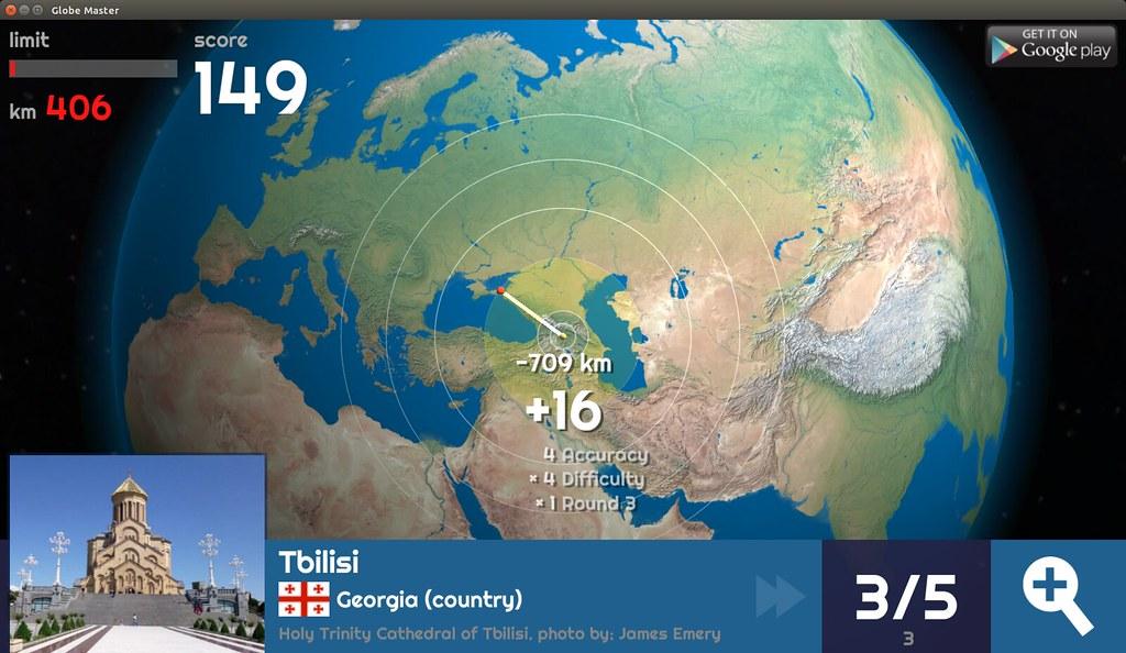 Globe Master 3D - Tbilisi