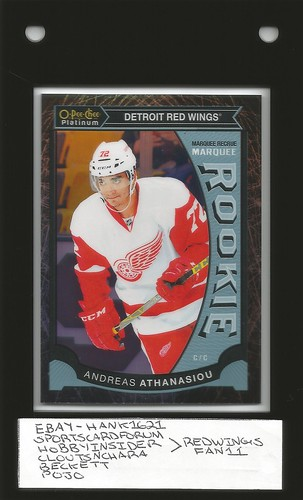 Andreas Athanasiou 15/16 UD OPC Platinum Black Ice /99 (1) | by Redwingsfan11