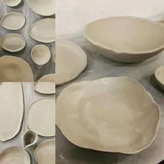 Hand thrown ceramics | by michtsang