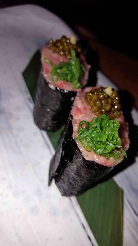 Wagyu Sushi - ROKA Charlotte Street (Medium)