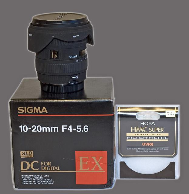 *FOR SALE* Sigma 10-20mm f/4-5.6 EX DC HSM lens
