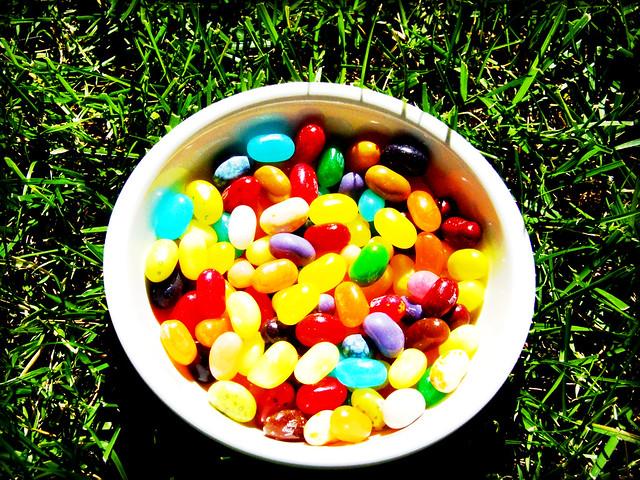 bowl full of jelly bellys