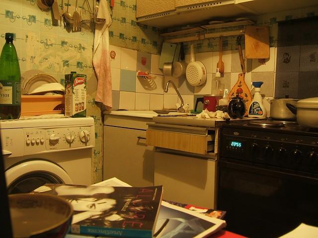 Babushka's kitchen, Yasenevo, Moscow // Кухня Бабушки, Ясенево, Москва